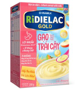 Bot Ridielac Gold Gao Trai Cay Hg 200g
