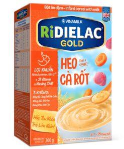 Bot Ridielac Gold Heo Ca Rot Hg 200g