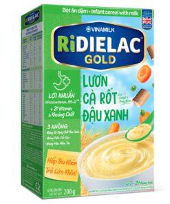 Bot Ridielac Gold Luon Ca Rot Dau Xanh Hg 200g